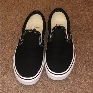 Slip on Vans size 8.5
